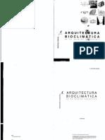 Arquitectura Bioclimatica en Un Entorno Sostenible Javier Neila Gonzalez