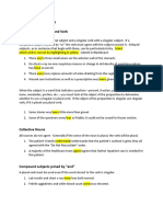 agreement subject verb worksheet for med docs