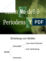Folien Atommodell Und Periodensystem