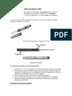 Aplicacion de Insulina Con Lapicero