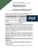 Protocolo Para Monitoreo de Directores a Sus Docentes