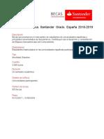 FichaBeca Iberoamerica Santander Grado Espana.20182019