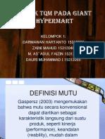 Aspek Tqm Pada Giant Hypermart