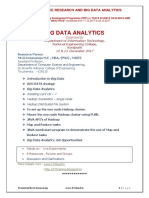 "AICTE  SPONSORED Faculty Development Programme (FDP) on ""DATA SCIENCE RESEARCH AND BIG DATA ANALYTICS"""