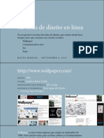 Revistas de diseño (Rocío Mireles)