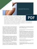 Gessoterapia Protocolo de Preparação Da Atadura Gessada