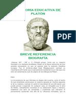 La Teoría Educativa de Platón