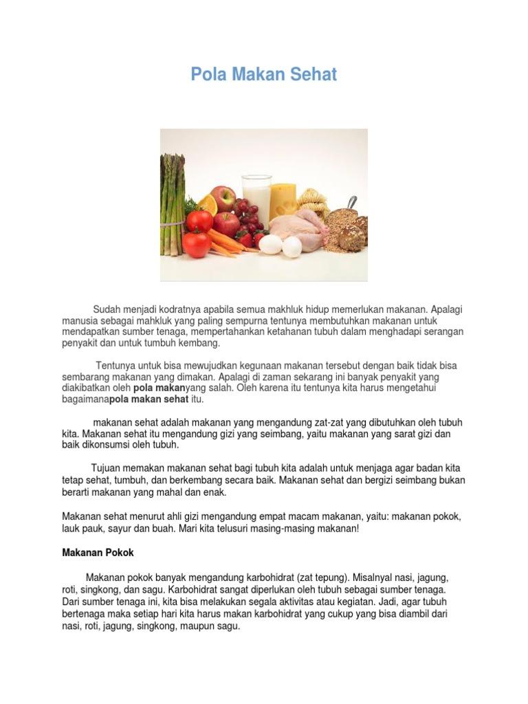 Pola Makan Sehat Eva