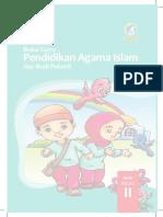Buku PAI kelas 2 Mi/SD