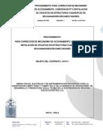 Correcciones Estructuras Reconectadores y Seccionadores