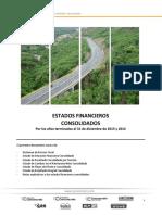 Estados Financieros y Notas Consolidado CCC Diciembre 2015