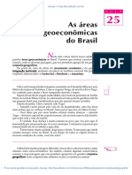 25 as Areas Geoeconomicas Do Brasil