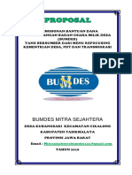 Cover Proposal BUMDES