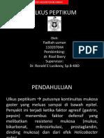 155251181 Ulkus Peptikum Ppt