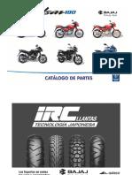 CATALOGO DE PARTES PULSAR - 180 IV - UG-R-GP-GT (2016)