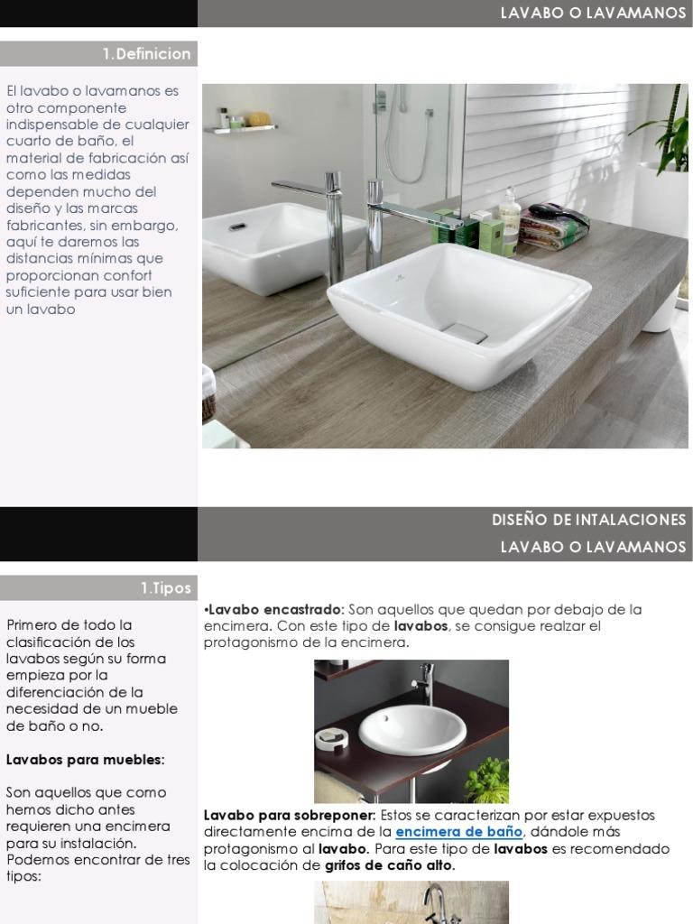 Colocacion Lavabo.Lavamnos Wastafel Teknologi Umum