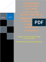 Monografia de La Insulina de Lacatedra de Fisiologia