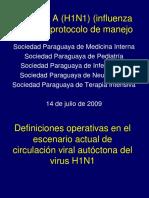 Influenza-Protocolo de Manejo