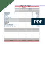 Costos y Presupuesto Tablas Macro Ejercicio