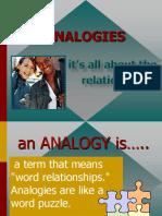 Best Analogy