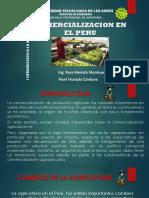 Comercializacion en El Peru