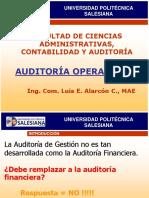 Auditoria Operativa II - Parte 1 Concepto Aud Gestión y 6 Es