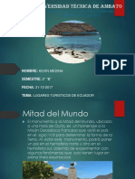 Lugares Turisticos Ecuador 1