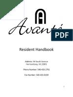 avante handbook draft 2