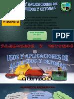 Usos y Aplicaciones de Aldehídos y Cetonas