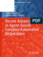 Recent Advances in Agent-based Complex Autom