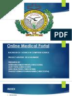 Online Medical Portal