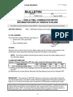 2007 – 2008 ALTIMA COMBINATION METER INFORMATION DISPLAY WINDOW IS BLANK.pdf