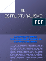 161508123 El Estructuralismo POWER POINT