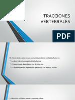 TRACCIONES VERTEBRALES