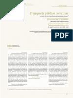 Transporte Público Colectivo Su Rol en Los Procesos de Inclusion Social