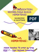 Patient Medication Record Pada Kasus Hipertensi-Isfi Jatim