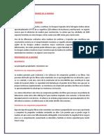 Caracteristicas y Propiedades de La Madera Informe 1