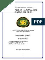 Monografia de Prueba de Chispa