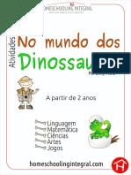 Atividades No Mundo Dos Dinossauros