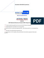 Gratisexam.com SAS Institute.actualtests.A00 240.v2015!03!12.by.michael Stave.65q