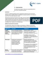 Assessment Centres Best Practice