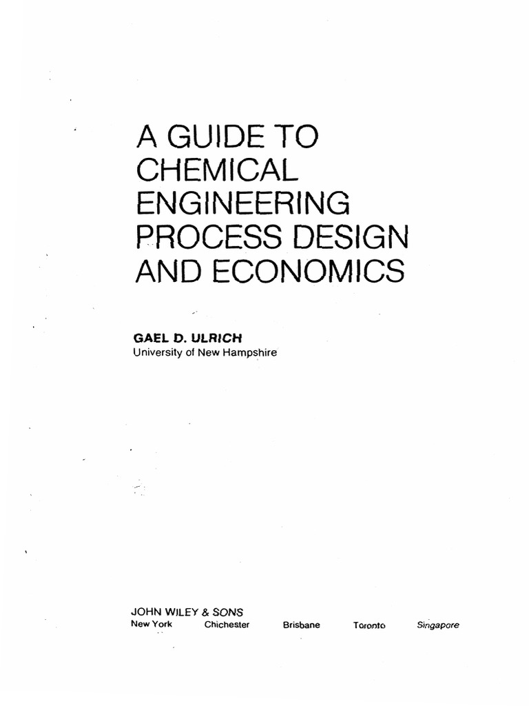 Ulricha guide to chemical engineering process design and economics ulricha guide to chemical engineering process design and economics distillation gases fandeluxe Gallery