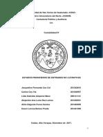 Estados Financieros de Entidades No Lucrativas Corregido