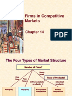 Lecture - 13 - Chapter 14 - Firms in Competitive Markets