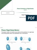 Planar Kinematics of Rigid Bodies