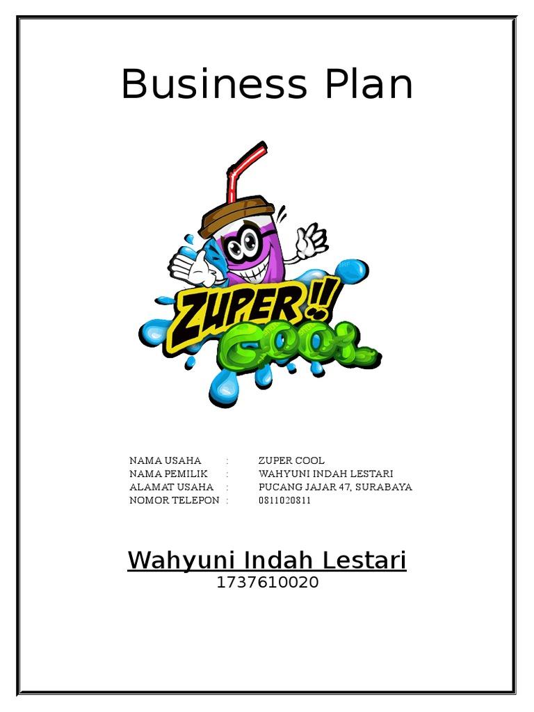 Business Plan Minuman Bubble