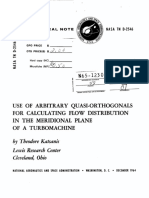 Use of Arbitrary Quasi-Orthogonals for Calculating Flow Distribution in the Meridional Plane of a Turbomachine.pdf
