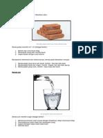 Sifat Benda Materi Ipa Kelas 5