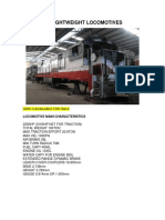 Ge Lightweight Locomotives