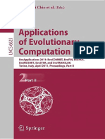 Applications of Evolutionary Computation, Part II